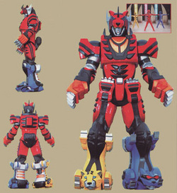 Jungle Fury Zords - Power Rangers Armageddon